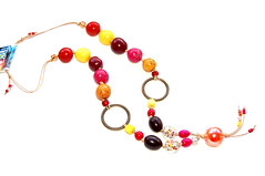 CL00212 (Bead by Bead Design) Tags: red brown color fashion yellow necklace beads colorful handmade castanho laranja jewelry bijoux bijuteria bijou amarelo gift bead accessories jewelery colar missangas cor madeira biju beading colares compras necklaces glassbeads accesories neckless colorido acessrios