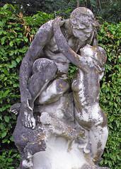 (Emmanuel Bouy) Tags: woman man france public statue nude kiss steve badge passion lichen slides embrace longing manandwoman y2006  bouyssounouse  ebouy 20100402 setfrance2006 set20100402 ebouys emmanuelbouy