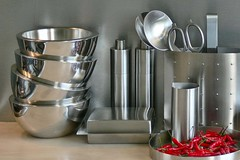 Red Hot Chili Peppers (Pieter Musterd) Tags: red kitchen pepper chili steel zack keuken peper rood thebest natures 1on1 rvs staal panasonicdmcfz30 thecontinuum pieter007 abigfave 123nl 123nlkeuken naturesthebest naturesthebestinvitedphotosonly lovenatures