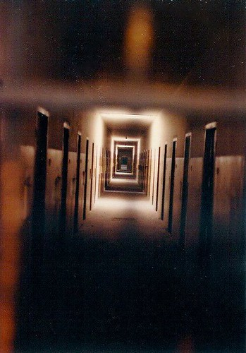 The cells at Dachau