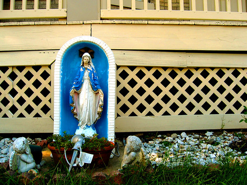 the patron saint of peeling paint