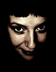 (Vina the Great) Tags: portrait woman girl smile princess lot highcontrast cropped desaturated psed leutke