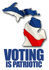 Voting is Patriotic (Michigan) by farlane