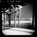 Goleta Pier, Night - by BURИBLUE