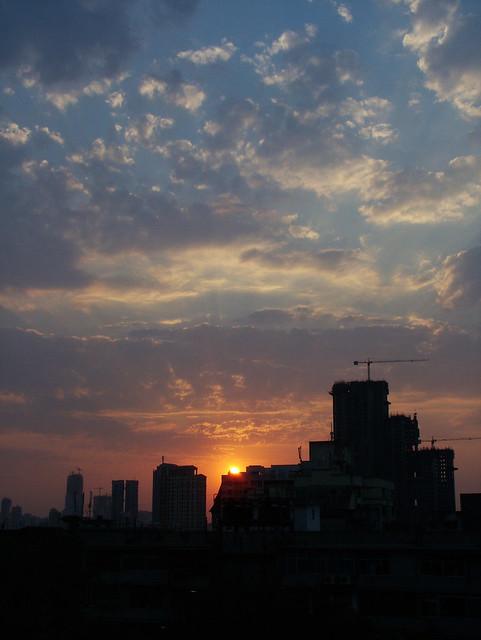 mumbai from my window...