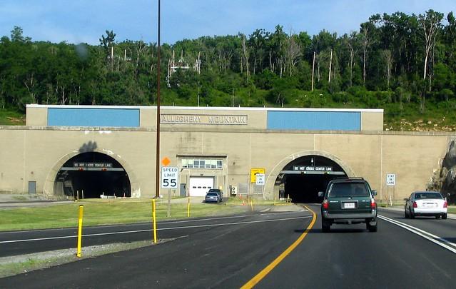 Tunnel on the Pennsylvania Turnpike