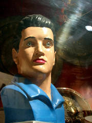 creepy elvis bust odd elvis ...