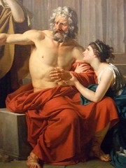 Oedipus at Colonus by Jean-Antoine-Theodore Gi...