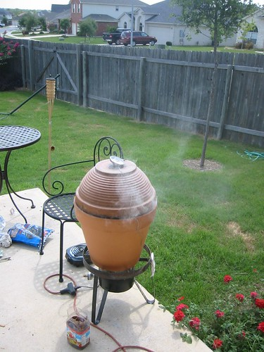 Ceramic Clay Pot Smoker