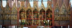 Cismar, Schleswig-Holstein, monastery church, altar (groenling) Tags: altar monastery cloister schleswigholstein grmitz retable cismar