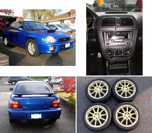 (Archived) For sale: Subaru Impreza WRX 2003