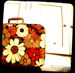 suitcase (girlhula) Tags: vintage thrifted ttv throughtheviewfinder kodakduaflex