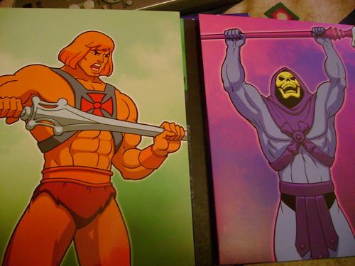 dvd masters universe heman