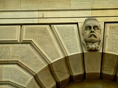 Stoic (Mowling) Tags: building face arch stonework moustache adelaide southaustralia mowling shannonmowling