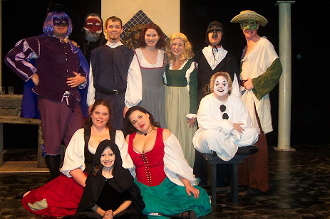 Commedia Cast