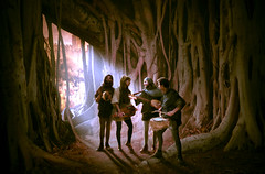 Celtic Dream (wild.doug) Tags: light music tree dark dream lewis mysterious cs celtic ages jrr tolkein photoshoproyalty