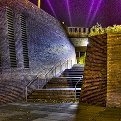 Civic Centre at night (Lord Biro) Tags: longexposure civiccentre myfavourites hdr sunderland