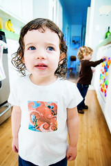 mia's in our kitchen (sesame ellis) Tags: girls friends kitchen mykid notmykid toddlers playdate dairycow2skid
