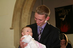Proud God-father (judeastone) Tags: baptism esther godfather