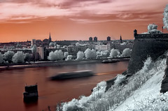 Novi Sad - infrared city (AB-) Tags: ir infrared novisad vojvodina