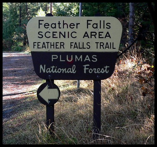 Feather Falls Trail Sign