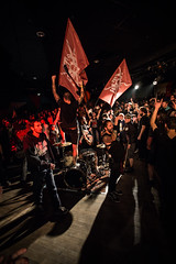The Butcher's Rodeo (mzagerp) Tags: underrated tour rise northstar paris trabendo great divide butcher rodeo hardcore metal concert photography