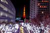 Tokyo tower of out of focus (sapphire_rouge) Tags: イルミネーション 六本木 skyscraper 夜景 東京 けやき坂 tokyotower 日本 illumination 高層ビル roppongihills roppongi keyakizaka japan 東京タワー 六本木ヒルズ