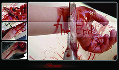 "The End \ ___ ""by me"" ___ ( Bonita  -   -) Tags: blood die suicide knife end the"