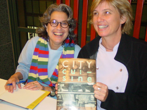 Susan Feniger and Mary Sue Milliken and their 25 Year Old City Cuisine Cookbook