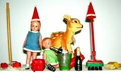 xmas housecleaning party  I (a.rud.beth) Tags: toys dolls bambi nakedundertheirdresses xmashousecleaningpartyi trashbit