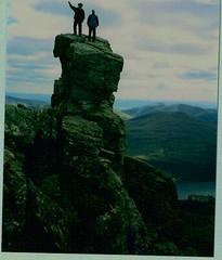 SCOTLAND TOP(ME) (Nicolas Valentin) Tags: sea mountain me up scotland top best climbing ecosse lovephotography p1f1 generouscomments aplusphoto