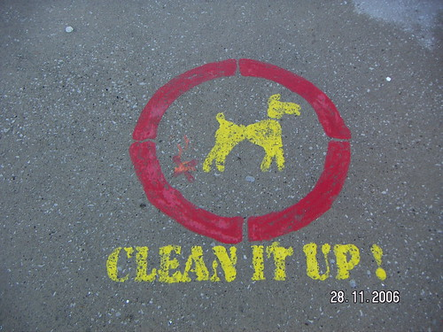 Clean it up