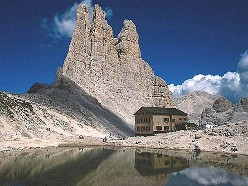 311205479 22f69845f7 Val di Fassa Il cardinale Sepe sul Vaiolet benedice la Madonna degli alpinisti
