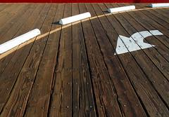 Pier Paving (ken mccown) Tags: wood texture pattern santamonica paving santamonicapier