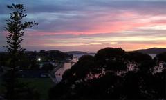 redsun boatramp (XEIANX) Tags: sunset red sky silhouette coast australia nsw centralcoast pc2250 gosford