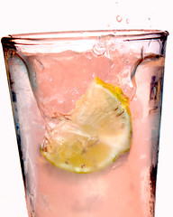 Pink Lemonade (blary_54) Tags: summer water glass fruit lemon drink beverage tasty drinks droplet splash thirsty refreshments softdrink fizz refresh