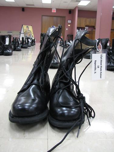 Adam Kaiser's boots