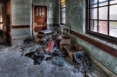 Abandoned Clothes (AJ Photographic Art) Tags: ajphotographicart canon statehospital urbex urbanexploration abandoned highresolution street streetphotography hdr clothes shoes dresses