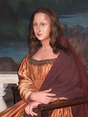 Mona Lisa (mharrsch) Tags: california francisco monalisa sanjose wax renaissance rosicrucianegyptianmuseum leonardodivinci artistsan mharrsch