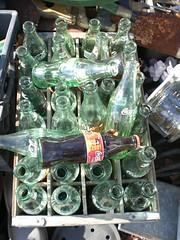 Coke Bottle Collection (John Suder) Tags: berlin glass newjersey junk farmersmarket coke collection collections fleamarket cokebottles berlinnewjersey