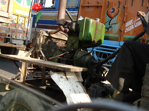 pump powered vehicle (jugaad)