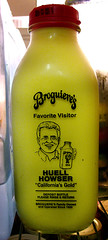 broguiere\'s eggnog and huell howser!