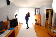 Simple home studio (Rune T) Tags: home studio living tech room flash example howto setup bedsheets 10mm