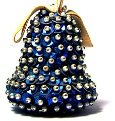 baby's first home made ornament (Darwin Bell) Tags: christmas xmas holiday bell pins homemade ornament crafty sequins flickrgold twtmesh170704 0707sh 707sh15 msh0907 msh090711