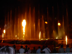 Sentosa's Magical Fountain Show