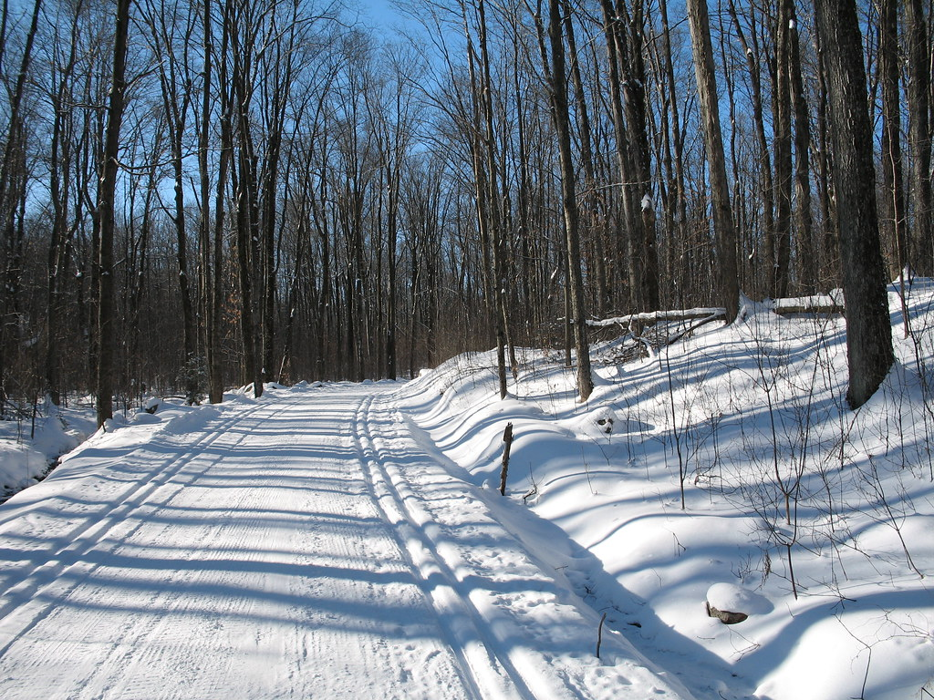x-c skiing in the GAT