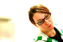 Hip & Pop (Knrad) Tags: light portrait verde green art torino glasses turin ritratto luce notinpose voltiditorino sempreesoloindie corradogiulietti