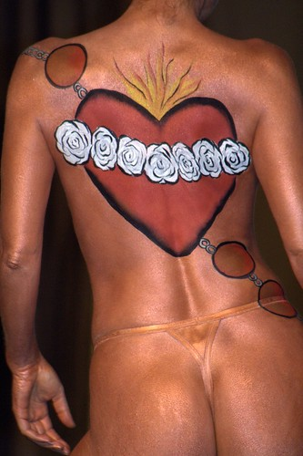 Lover Body Art Painting