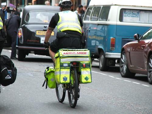 Ambulancia de Bicicleta