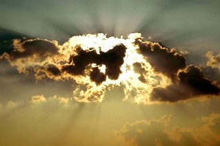Sky in Romania.